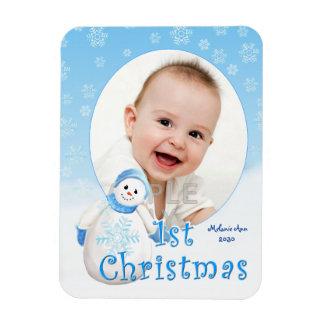 Baby 1st anpassningsbar för julsnögubbe magnet
