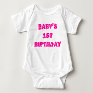 Baby 1st födelsedag tröjor