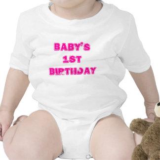 Baby 1st födelsedag bodies