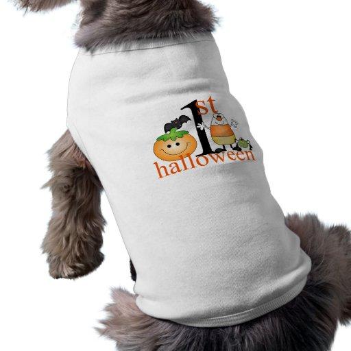 Baby 1st Halloween Hund Tee Shirt