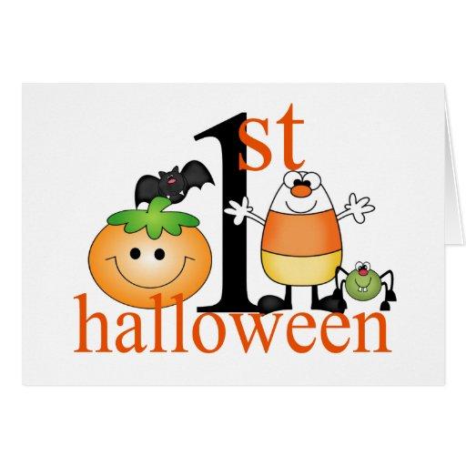 Baby 1st Halloween Kort
