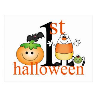 Baby 1st Halloween Vykort