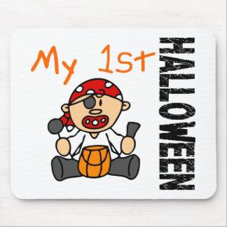 Baby 1st POJKE för Halloween pirat Musmattor