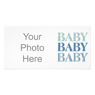 Baby baby babyfotokort