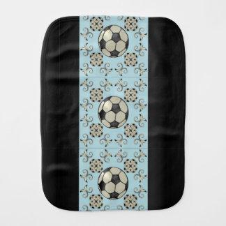 Baby blue fotboll för MVB som rapar Trasa-Design 1