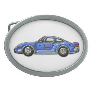 Baby blue klassikerbil