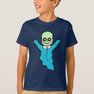 Baby blue pojke för Zombie T-shirts