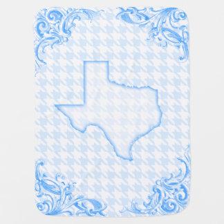 Baby blue Texas Bebisfilt