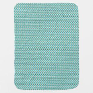 Baby-Filt Royalty-Pläd--Blue-Stylish_Blanket Bebisfilt