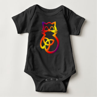 Baby för katt för regnbågeTrinityfnurra Celtic ett Tröjor