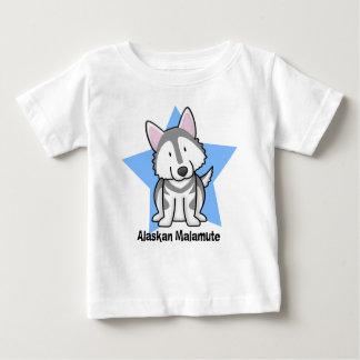 Baby för Malamute för Kawaii stjärna alaskabo T Shirts