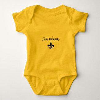 Baby för musik för New Orleans klarinettJazz T-shirt