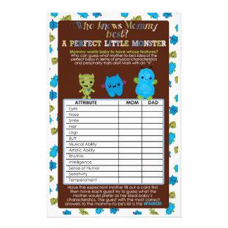 Baby för perfekt för lek för PeekaBoomonsterbaby Reklamblad 14 X 21,5 Cm
