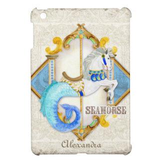 Baby för vintage för karusell för cirkusfantasiSea iPad Mini Skal
