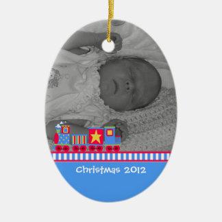 Baby första julprydnad julgransprydnad keramik