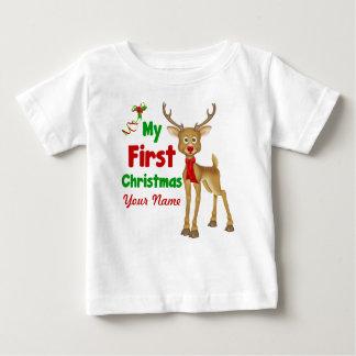 Baby första julren t shirt