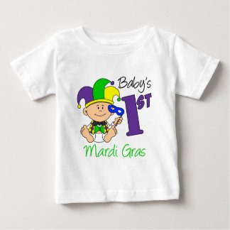 Baby första Mardi Gras Tee