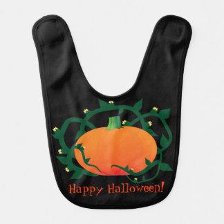 Baby första pumpa för Halloween happy halloween Hakklapp