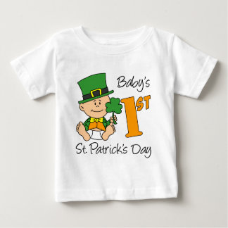 Baby första st patricks day t-shirts