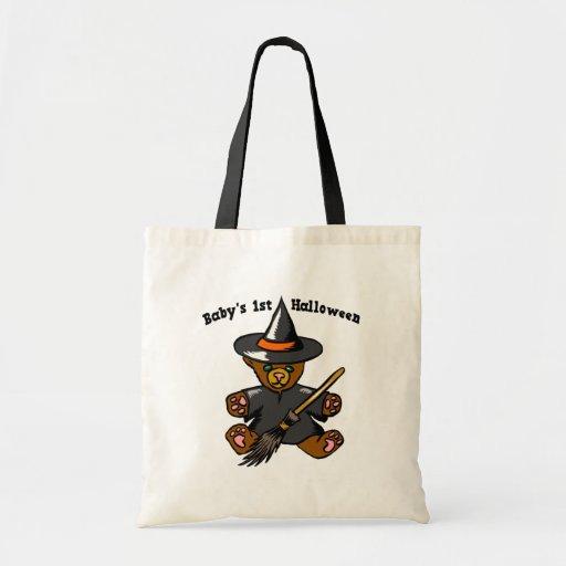 Baby hänger lös 1st Halloween Tote Bags