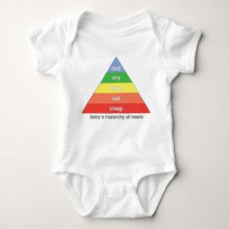 Baby hierarki av behov - PAPPA T-shirt
