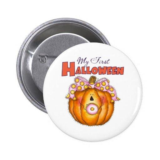 Baby knäppas 1st Halloween Knappar Med Nål