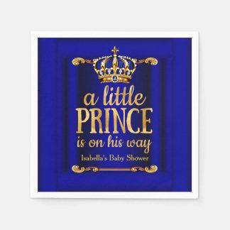 Baby shower för Prince På Hans Långt för kungliga Pappersservetter