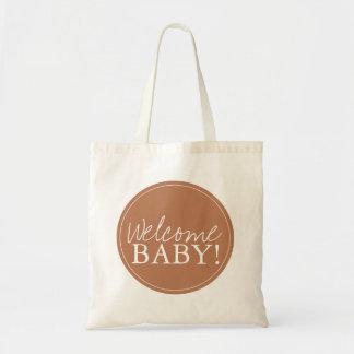 Baby shower hänger lös | välkomnande tote bags