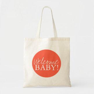 Baby shower hänger lös välkomnande kassar