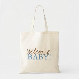 Baby shower hänger lös   välkomnande tote bags