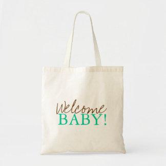 Baby shower hänger lös | välkomnande tygkasse