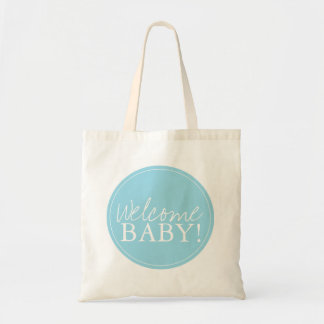 Baby shower hänger lös   välkomnande tygkasse