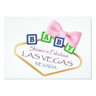 Baby shower i Las Vegas FLICKAinbjudan 12,7 X 17,8 Cm Inbjudningskort