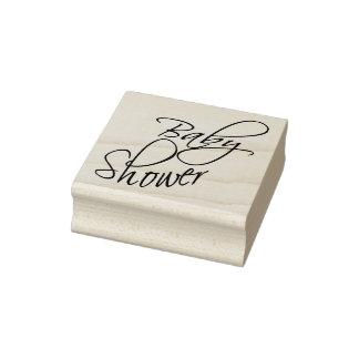 Baby shower - skriva stämpel