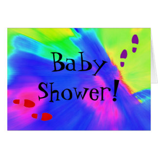 Baby shower som jag Card