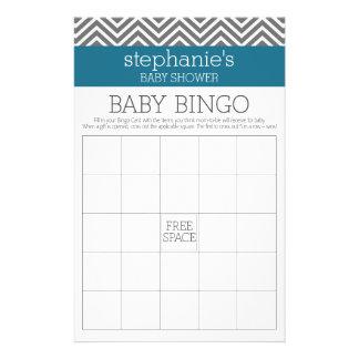 Baby showerBingo - kricka- och gråttsparrar Reklamblad 14 X 21,5 Cm