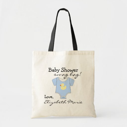 Baby showerbylte tote bag