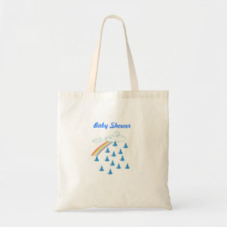 Baby showerpojke tote bags