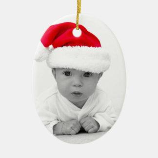 Baby sött C Julgransprydnad Keramik