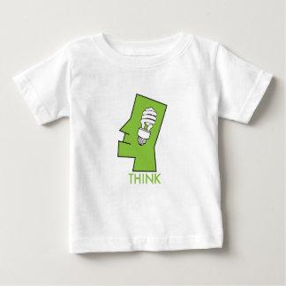 Baby tänkagrönt t shirt