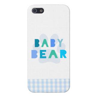Babybjörn - blått iPhone 5 cover