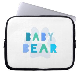 Babybjörn - blått laptop datorfodral