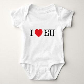 Babybodysuit - I-hjärtaEG T-shirts