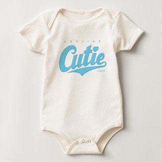 Babyboy äktaa Cutie - (blue) Krypdräkt