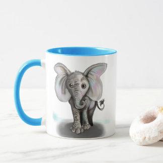 Babyelefant Mugg