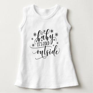 Babyen är det den kalla Sleeveless klänningen för Tee Shirt