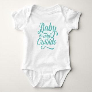 Babyen är det kallt utanför Bodysuit Tshirts