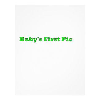 Babyen föreställer först de MUSEUMZazzle gåvorna Flygblad Designs