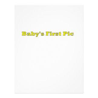 Babyen föreställer först de MUSEUMZazzle gåvorna Personliga Flygblad