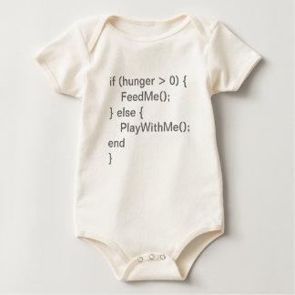 Babyen kodifierar - hungrigt & lek sparkdräkter